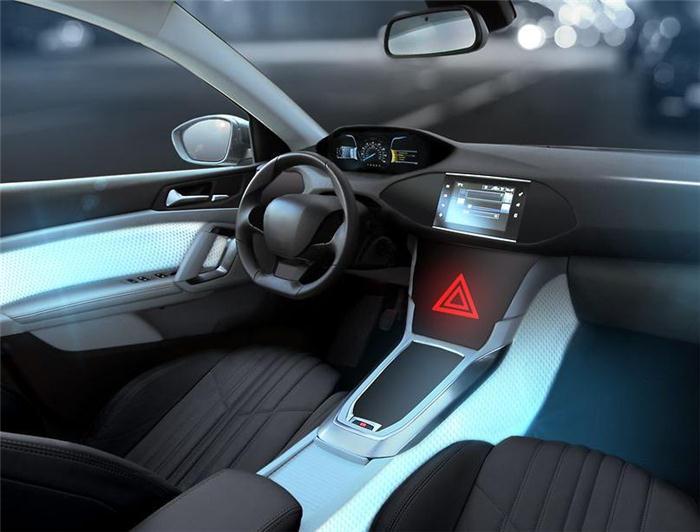 黑科技,前瞻技术,大陆新内饰材料,大陆车内照明,大陆内饰光效